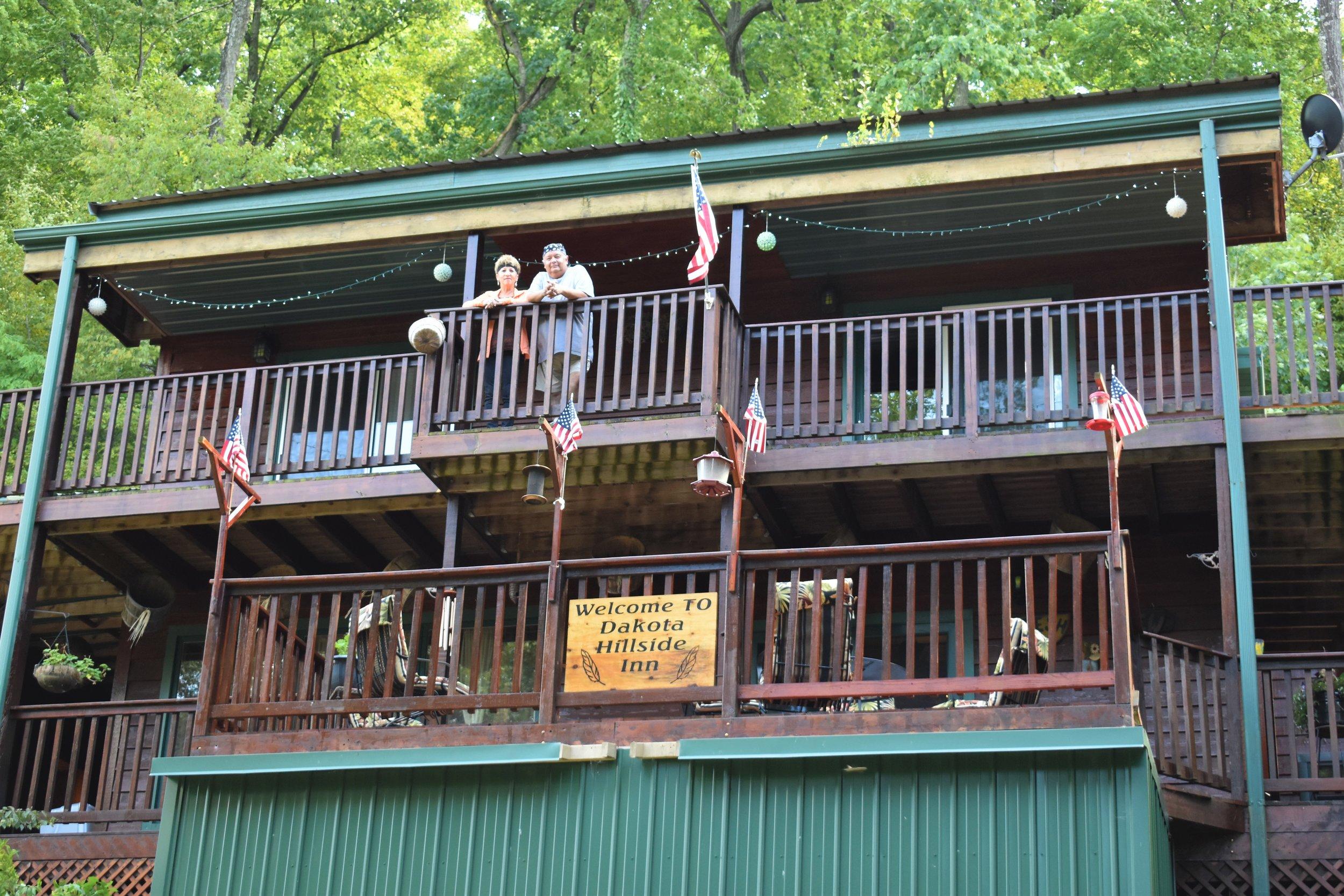 Ron and Barb Redwing- The Dakota Hillside Inn