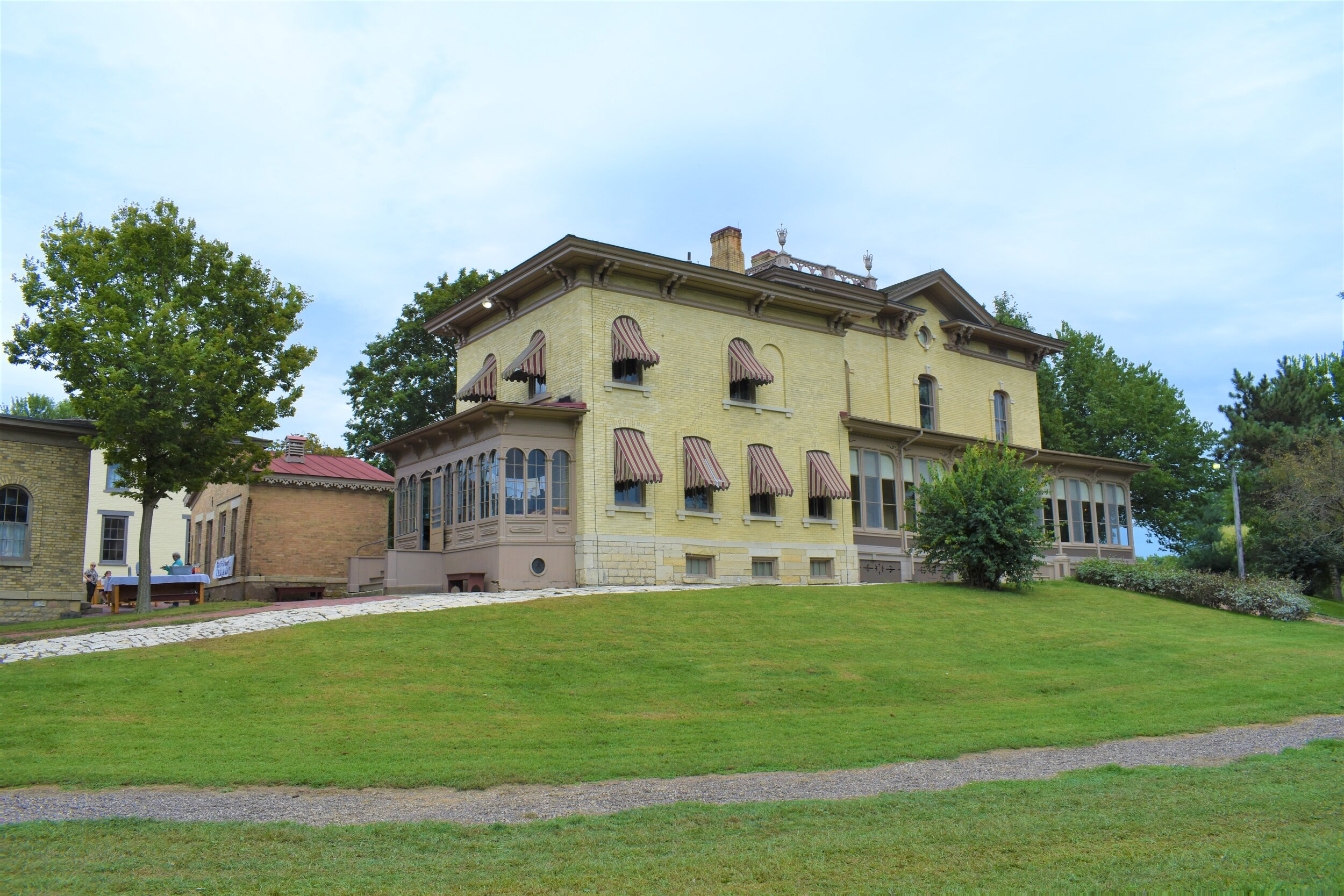 The Villa Louis mansion