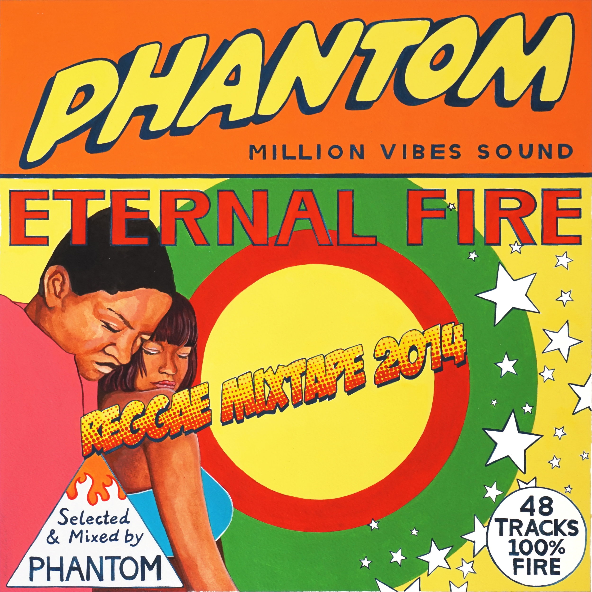 DJ Phantom (Million Vibes Sound) - Eternal Fire (mixtape)