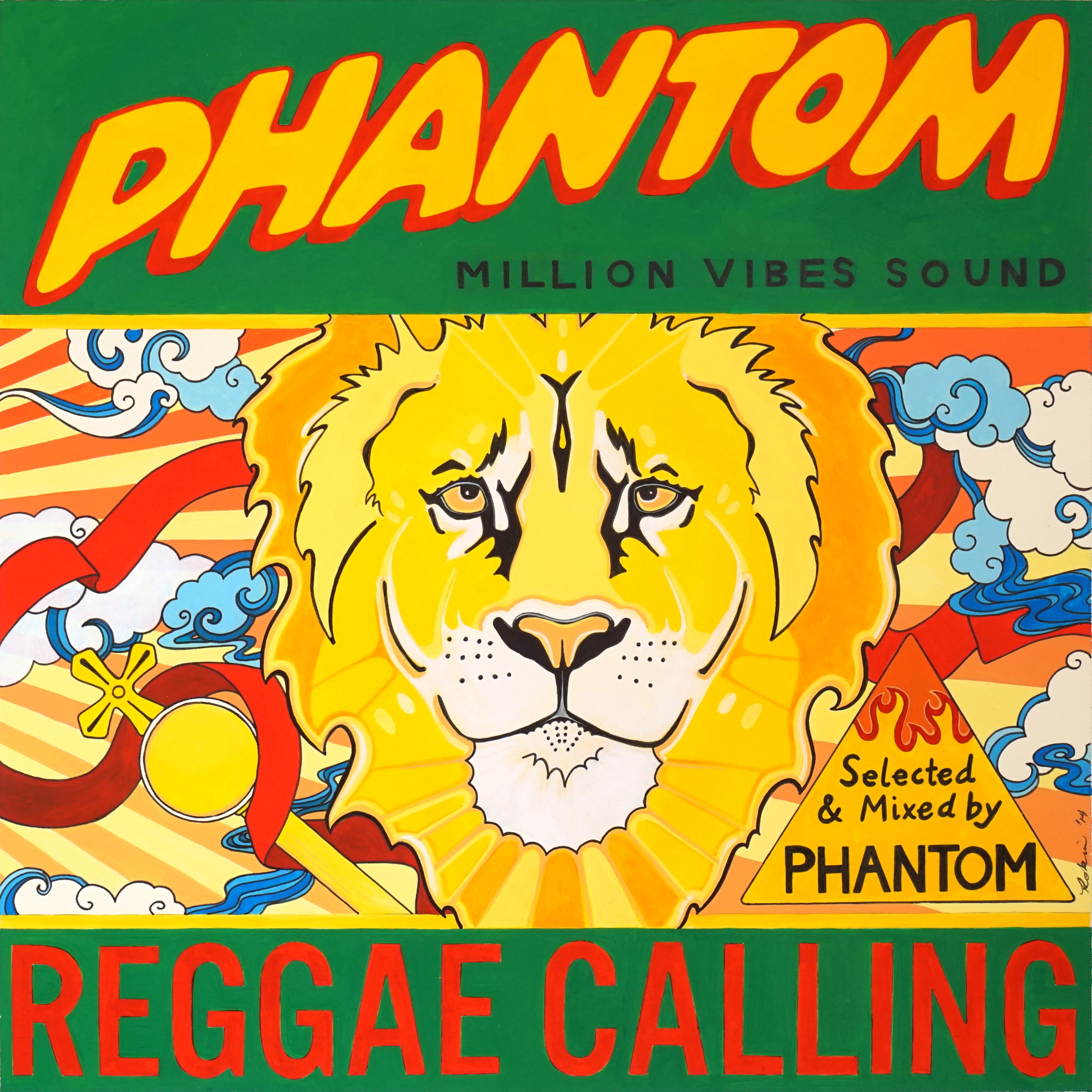DJ Phantom (Million Vibes Sound) - Reggae Calling (mixtape)
