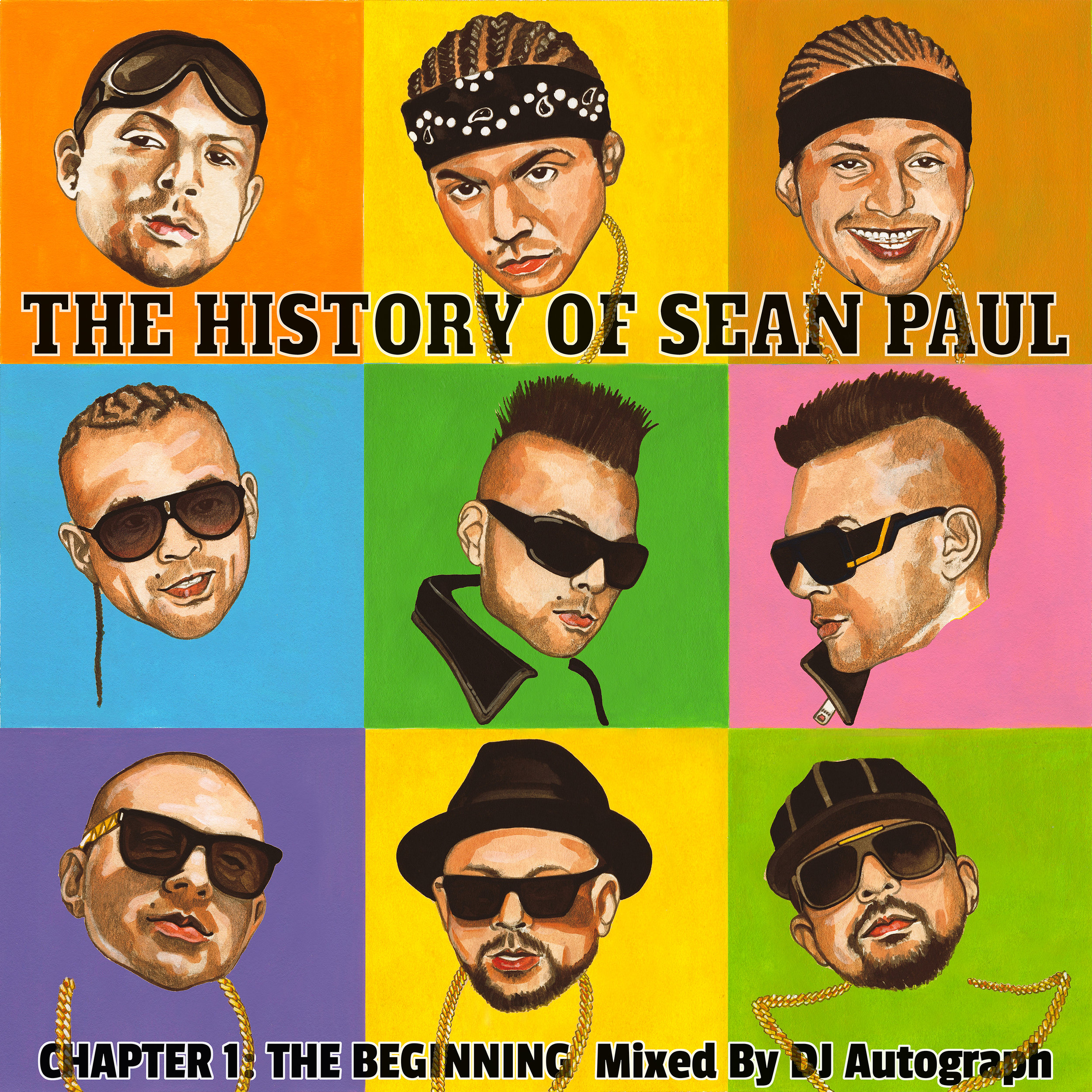 DJ Autograph - The History of Sean Paul (mixtape/interviews)