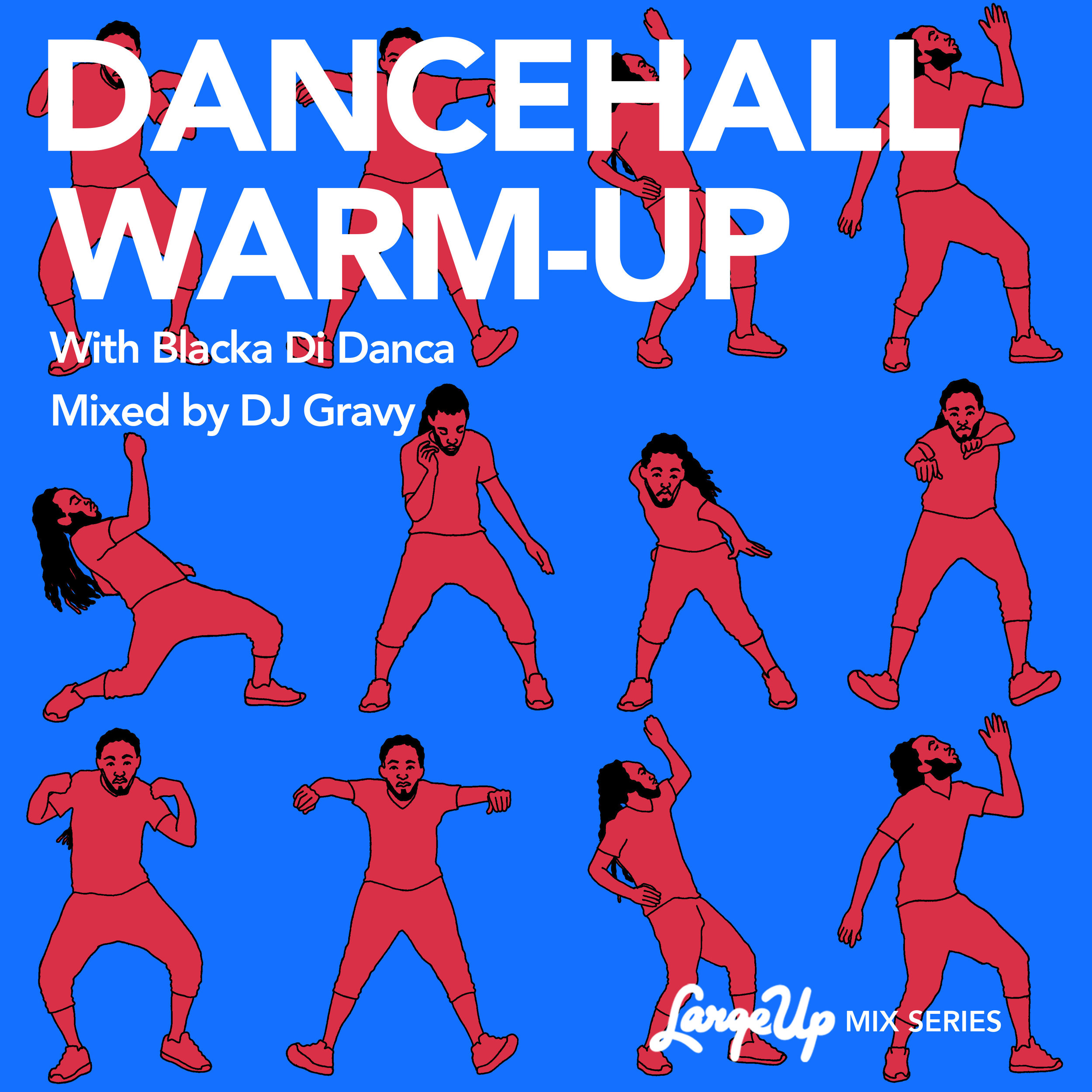 LargeUp.com - Dancehall Warm-Up (mixtape)