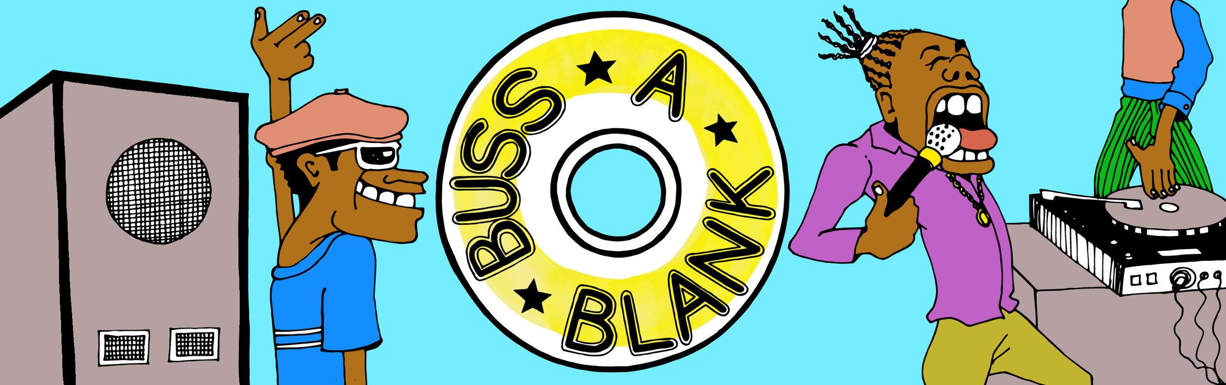 Buss A Blank - Identity Artwork & Logo