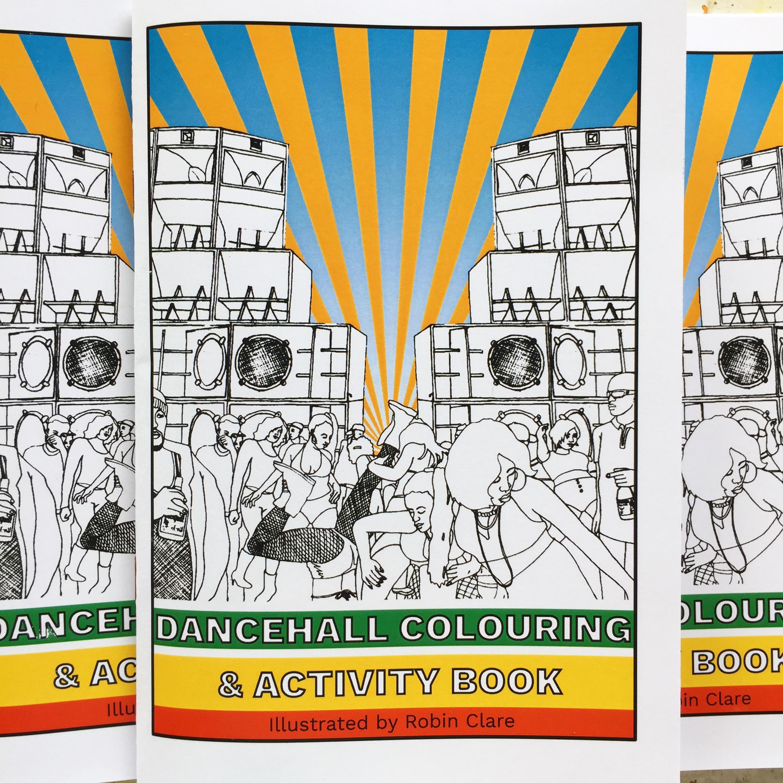 Dancehall Colouring & Acrivity Book