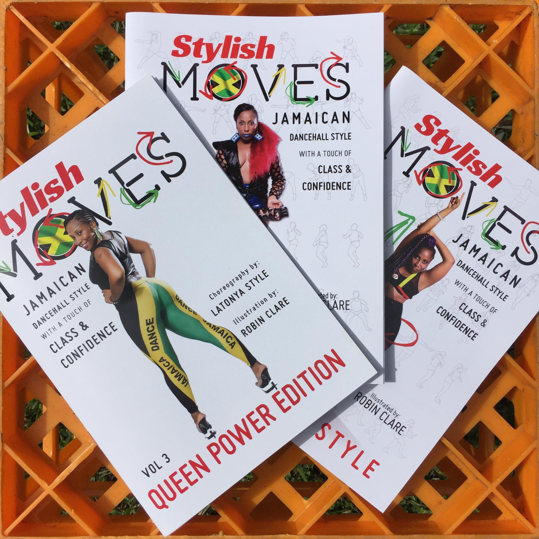 Stylish Moves Instruction Manuels (vol 1 - 4)