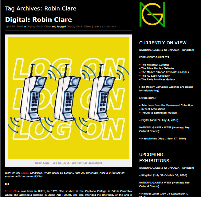CV | Biography | Press — Robin Clare Art