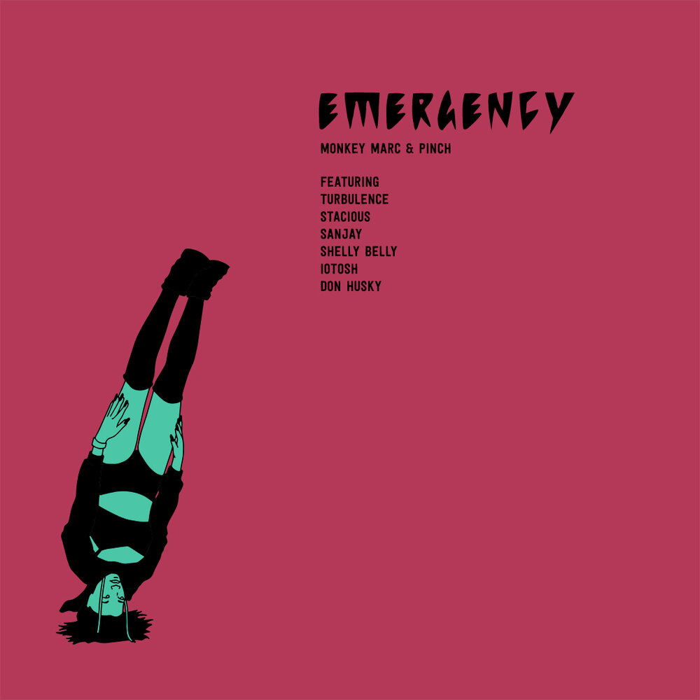 Monkey Marc & Pinch - Emergency (Single Cover)