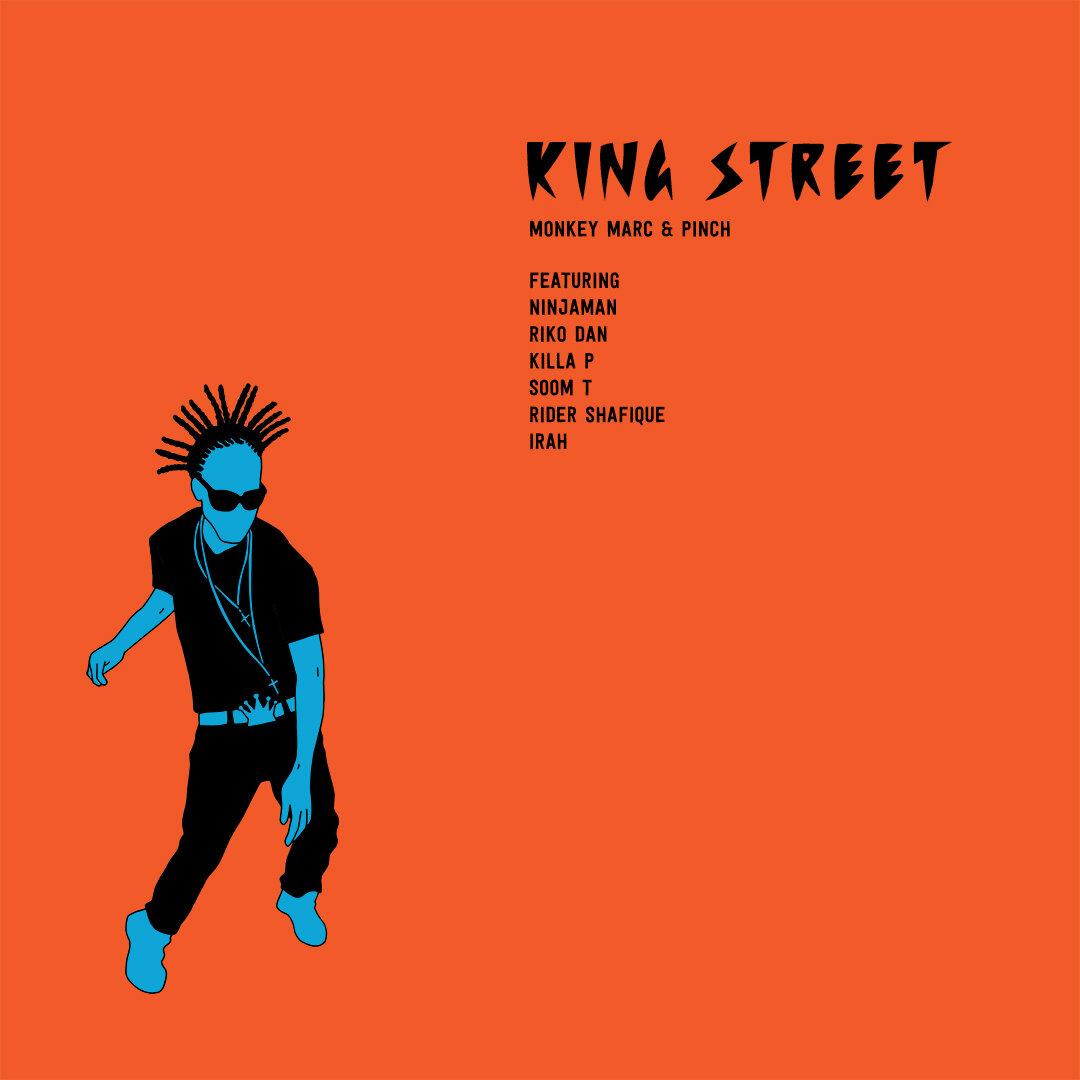Monkey Marc & Pinch - King Street (Single Cover)