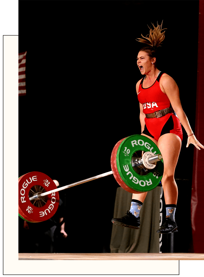 Nutrition Coaching For Female Strength Athletes - Say goodbye to DIY weight cuts. Say hello to 1-on-1 support and expert guidance every step of the way