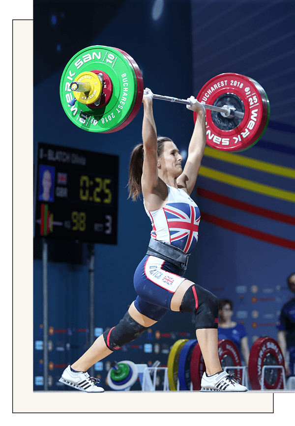 "Results - ""Working with Vera Performance has dramatically improved my performance! My nutrition coach plans everything out for me and now I finally feel like I can truly focus on my training and reach my potential as an athlete""Olivia Blatch, Team Great Britain Athlete, 2018 GB Champion & Gold Medalist"