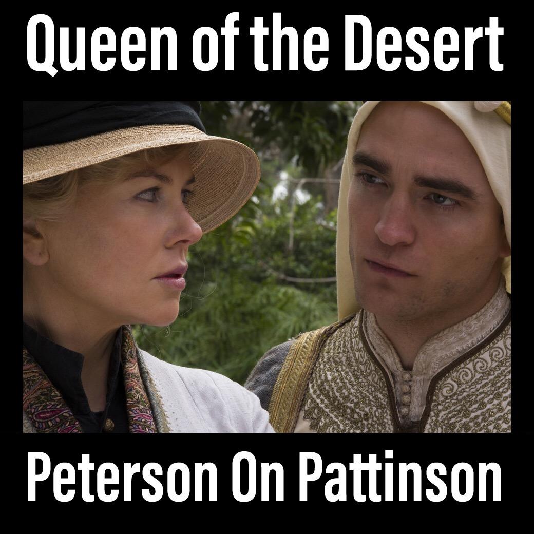 Robert Pattinson and Nicole Kidman in Werner Herzog's Queen of the Desert.