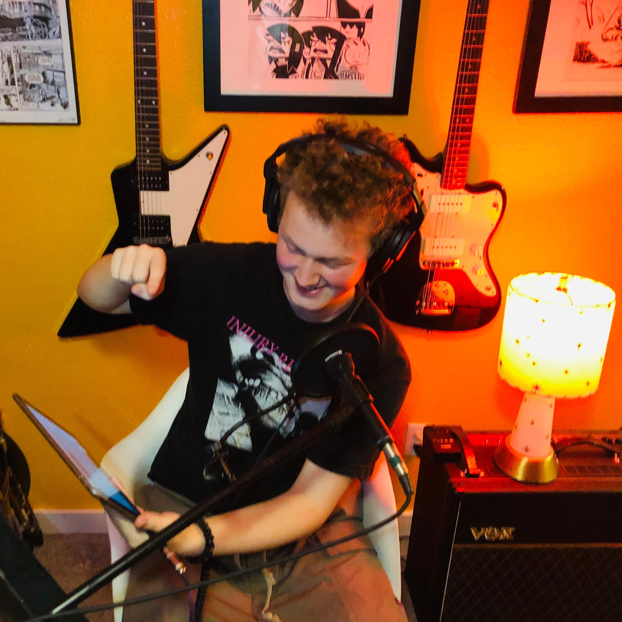 Carter Peterson - Sound Board Aficionado.