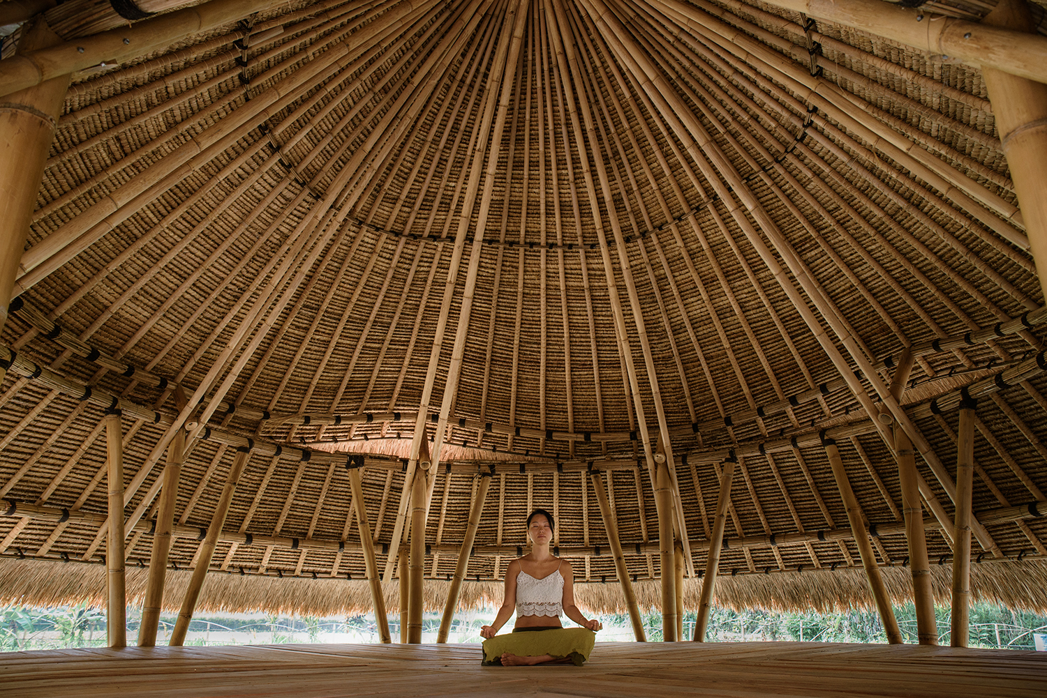 yoga shala - Sitting above a pond, our Yoga Shala is the physical and symbolic heart of Mana Earthly Paradise. It's the perfect place to rejuvenate your body and mind as you connect with the lush environment surrounding you.Please check with reception for timetable.