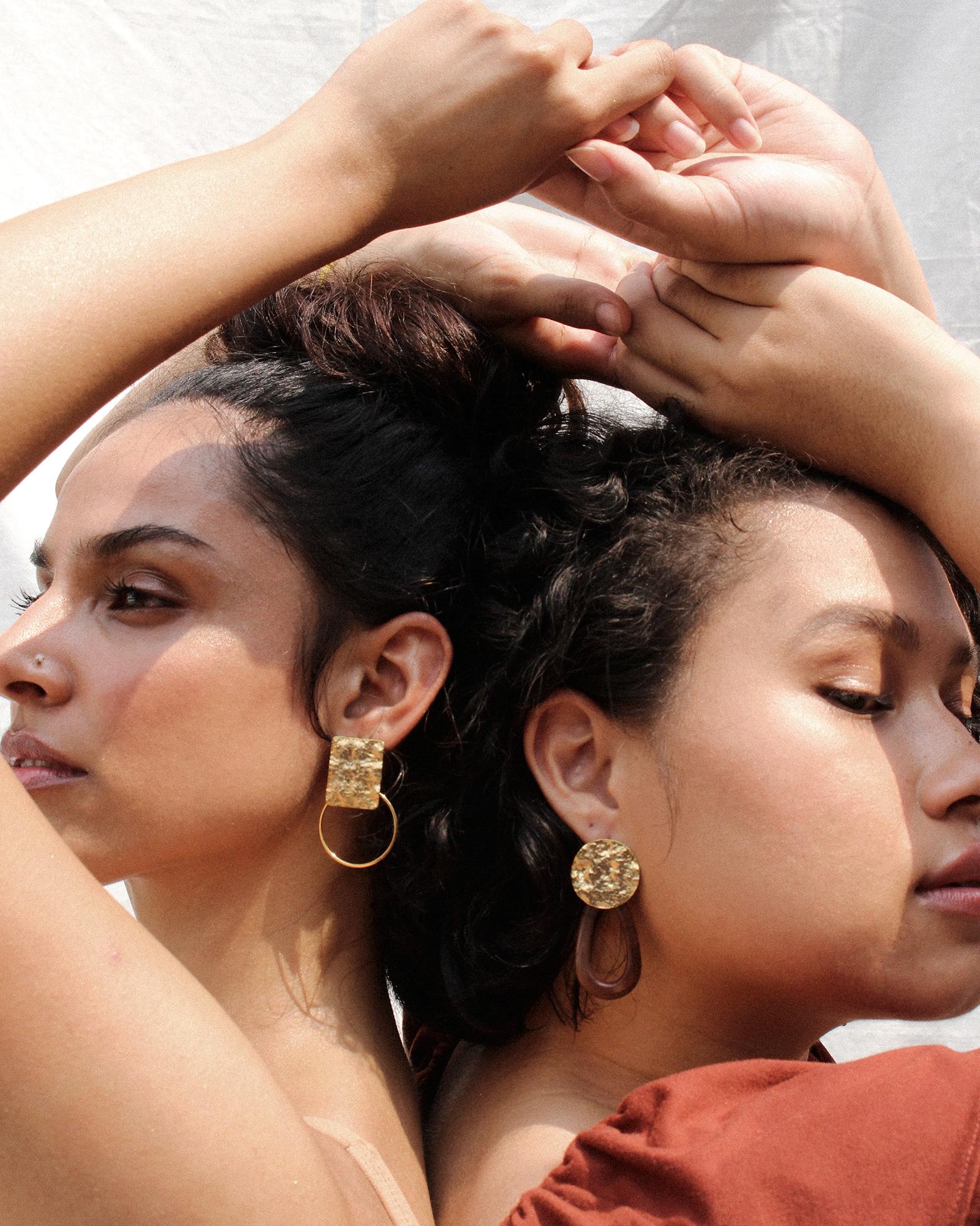 Ashkiro Earrings  and  Siddi Earrings