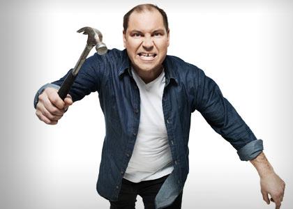Remonttipiiskuri - Angry Carpenter