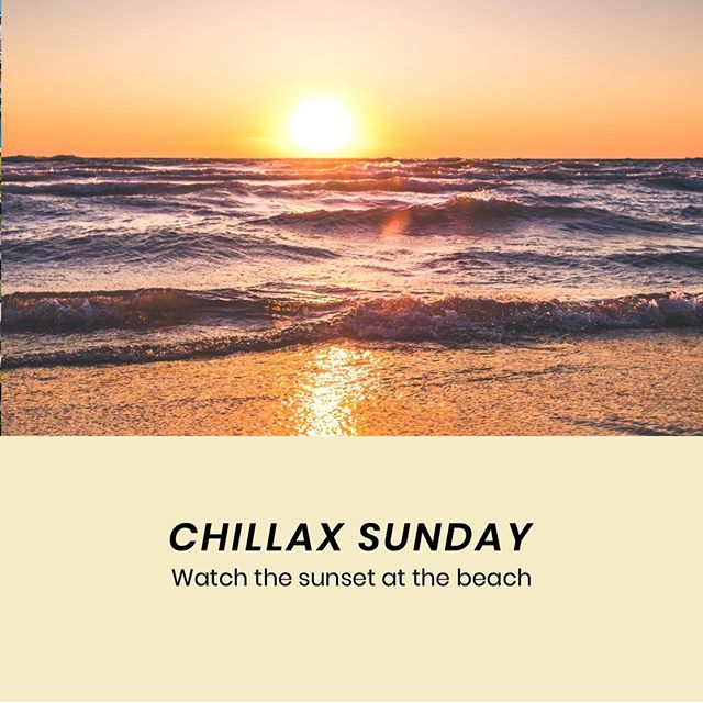 It's SUNDAY which means it's time to wind down and CHILLAX⠀ 😎⠀ The way we love to chillax is to watch the sunset at the beach. Smell the ocean, breathe in fresh air; get a light dose of vitamin D from the Sun⠀ 🌞⠀ Chillax my friends, because it's a Sunday!⠀ 🎵⠀ Cues Lazy Song by Bruno Mars⠀ ⠀ #TheBrandstorySG⠀ .⠀ .⠀ .⠀ .⠀ .⠀ #branding #design #graphicdesign #marketing #creative #style #business #entrepreneur #inspiration #socialmedia #graphicdesigner #brandidentity #smallbusiness #instasg #madeinsg #tips #tipsandtricks #singapore #localsg