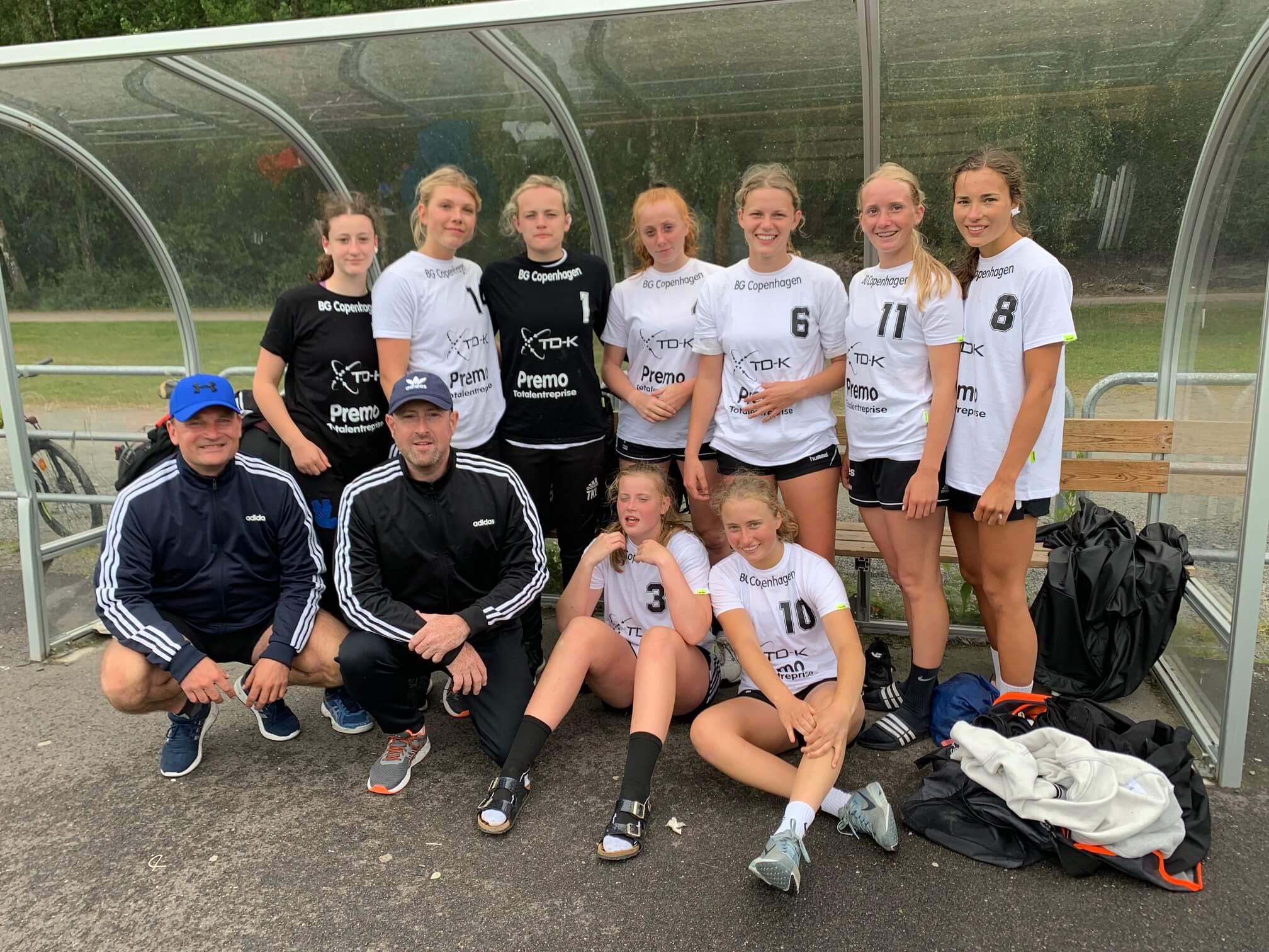 BG Copenhagens  Girls 18 . Foto tilhører BG Copenhagen.