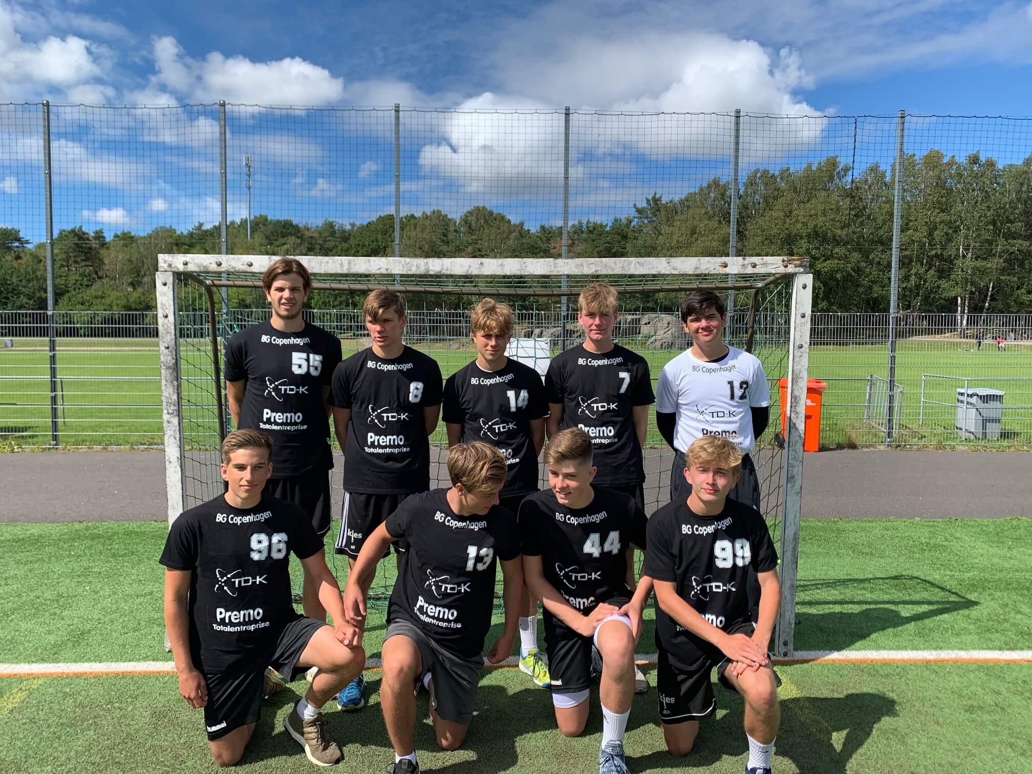 BG Copenhagens  Boys 18 . Foto tilhører BG Copenhagen.