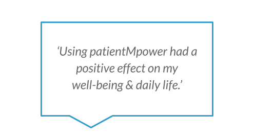 'Using patientMpower had a positive effect on my well-being & daily life.'.png