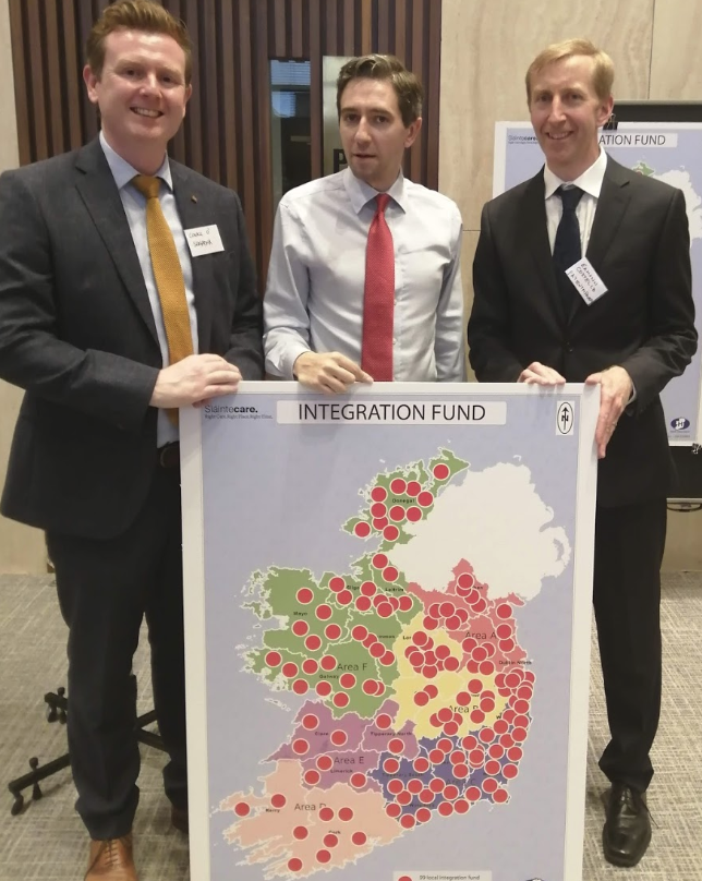Sláintecare Integration Fund launch event, with Minister for Health, Simon Harris