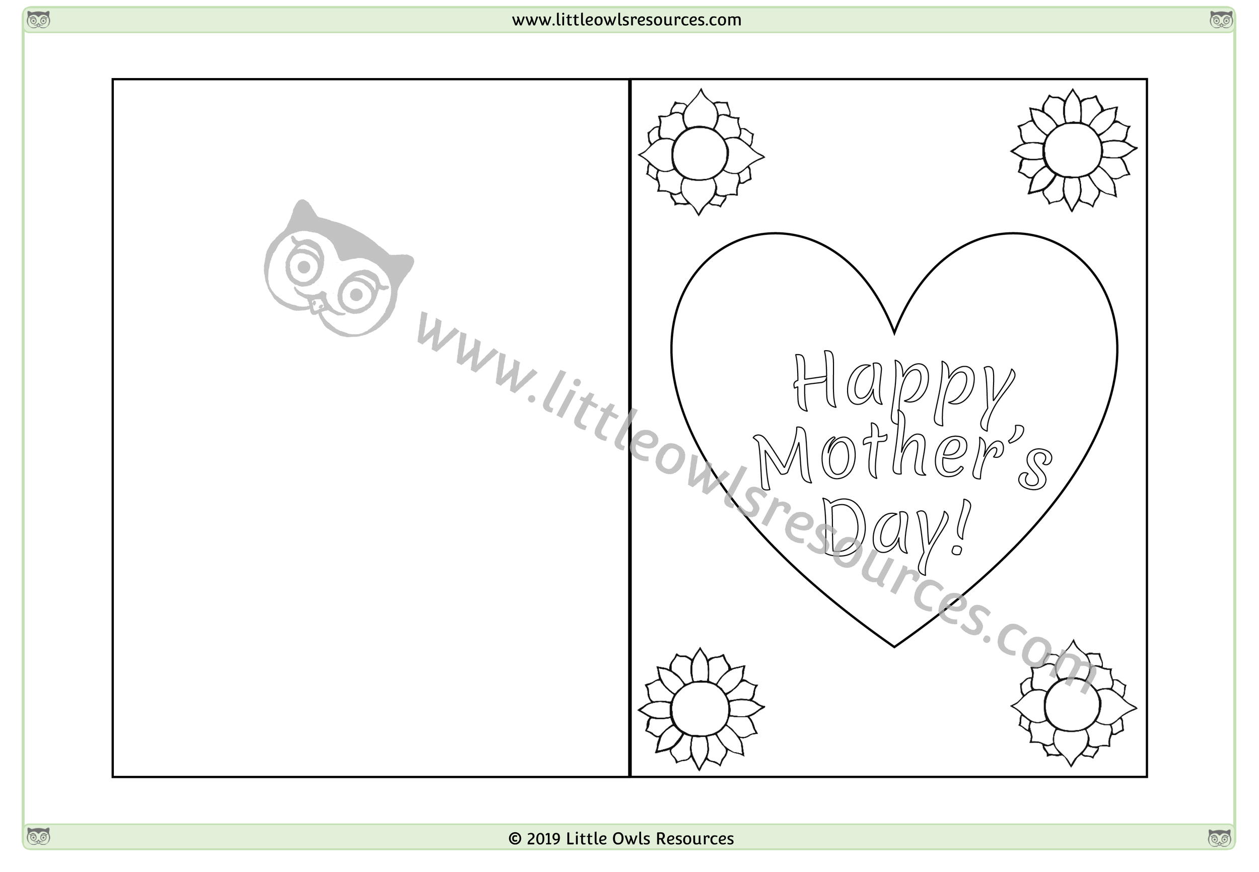 Mother's Day Card 1 -