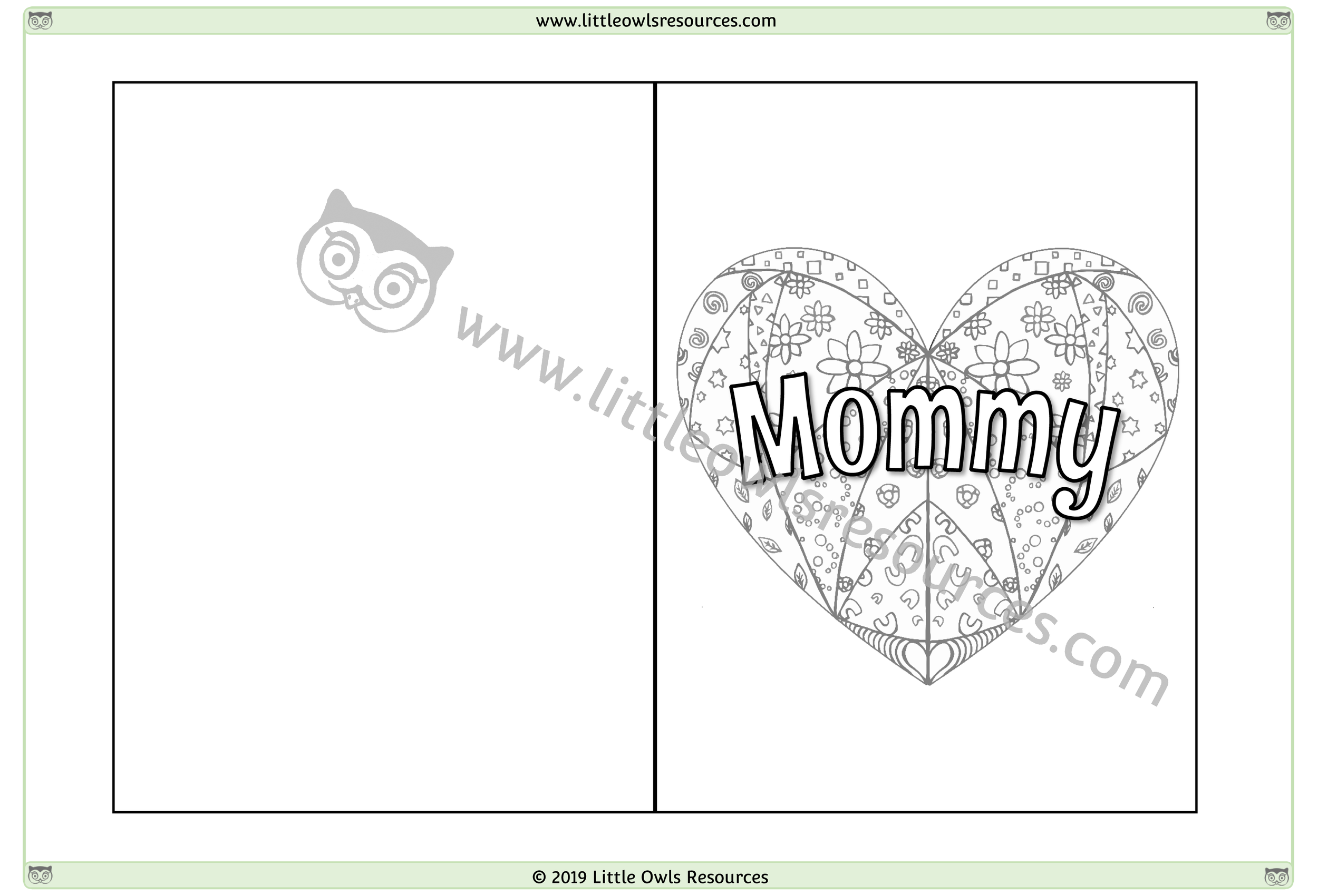 Mother's Day Card 3 -