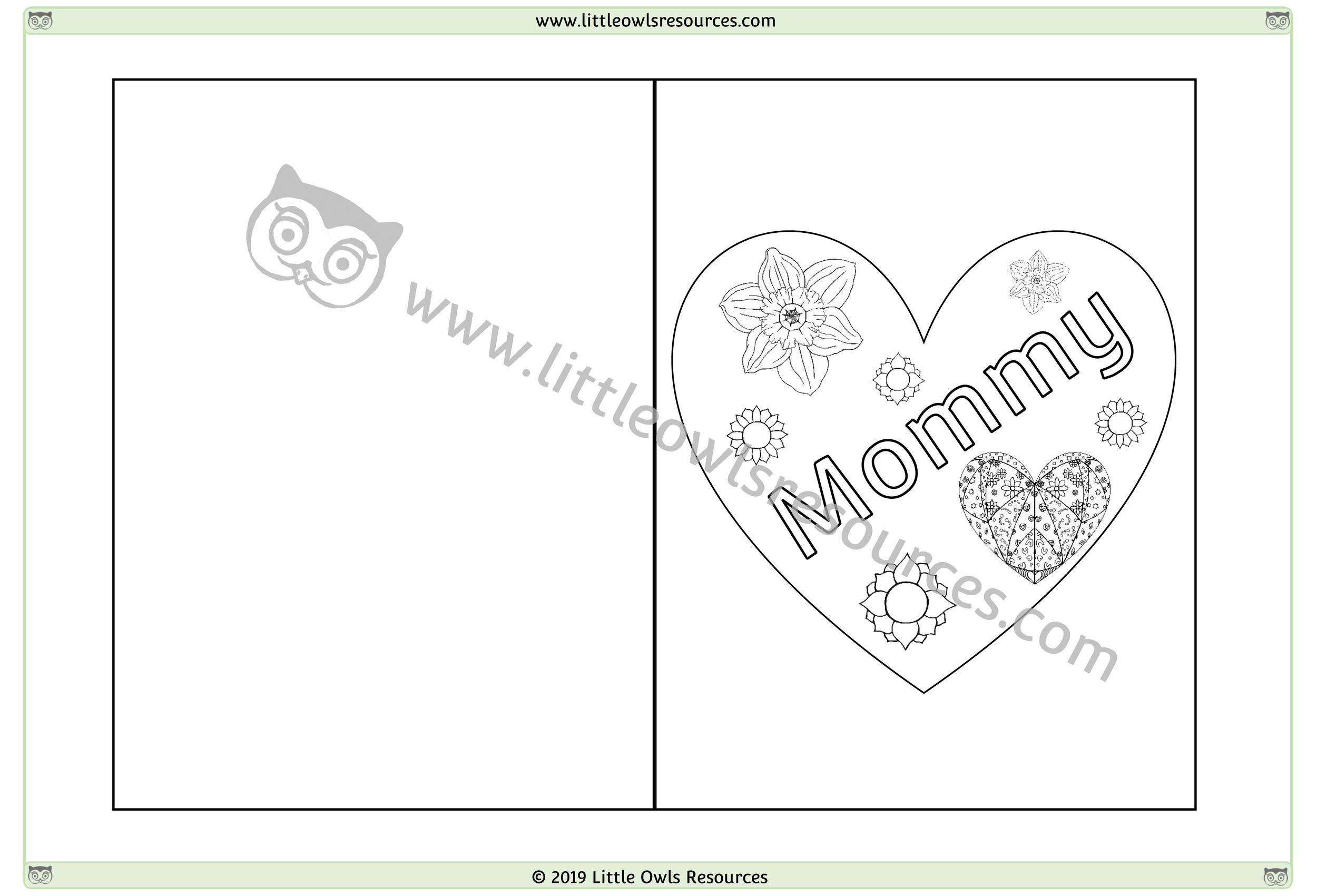 Mother's Day Card 7 -