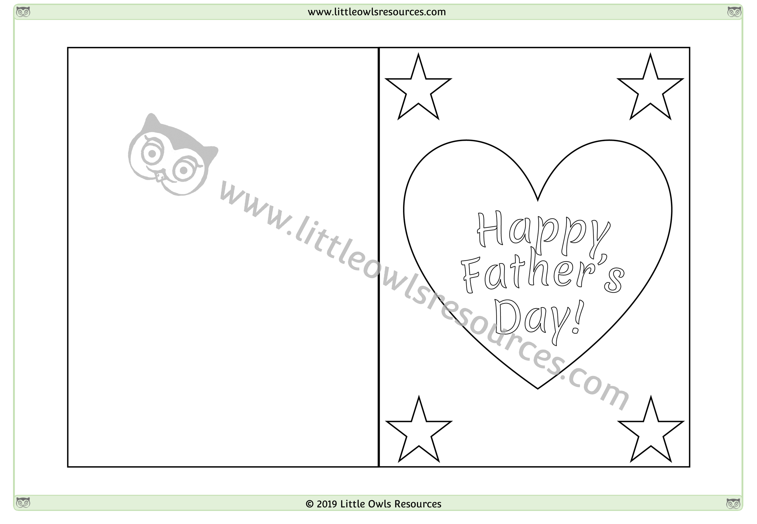 Father's Day Card 1 -
