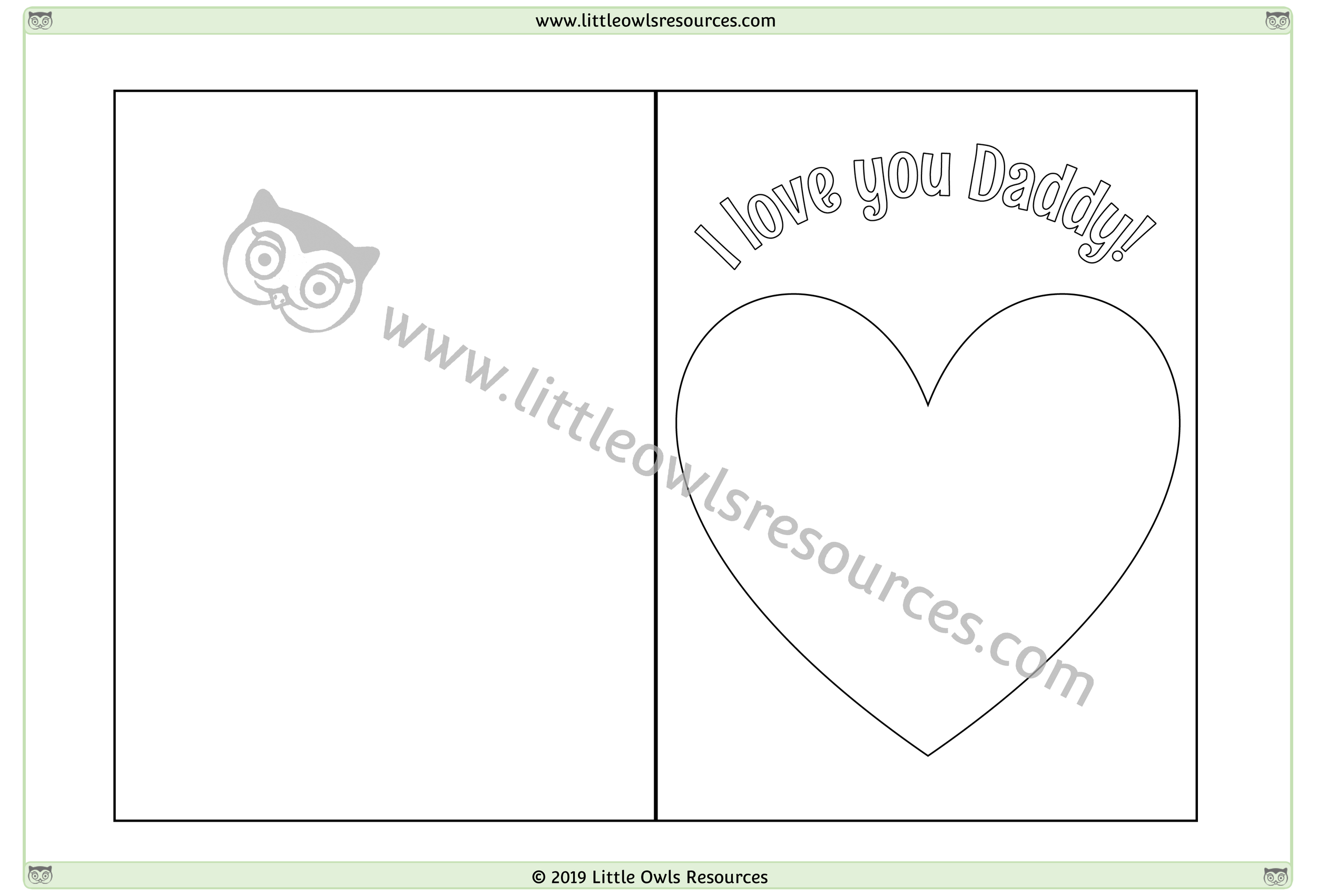 Father's Day Card 3 -