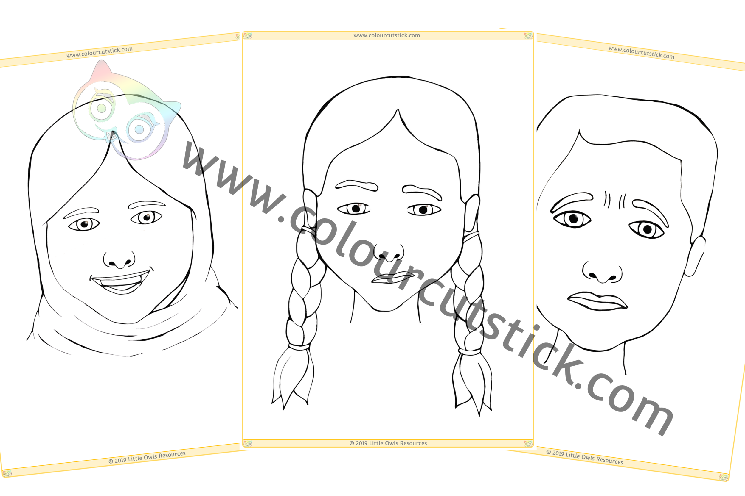 Emotions Colouring Pack -