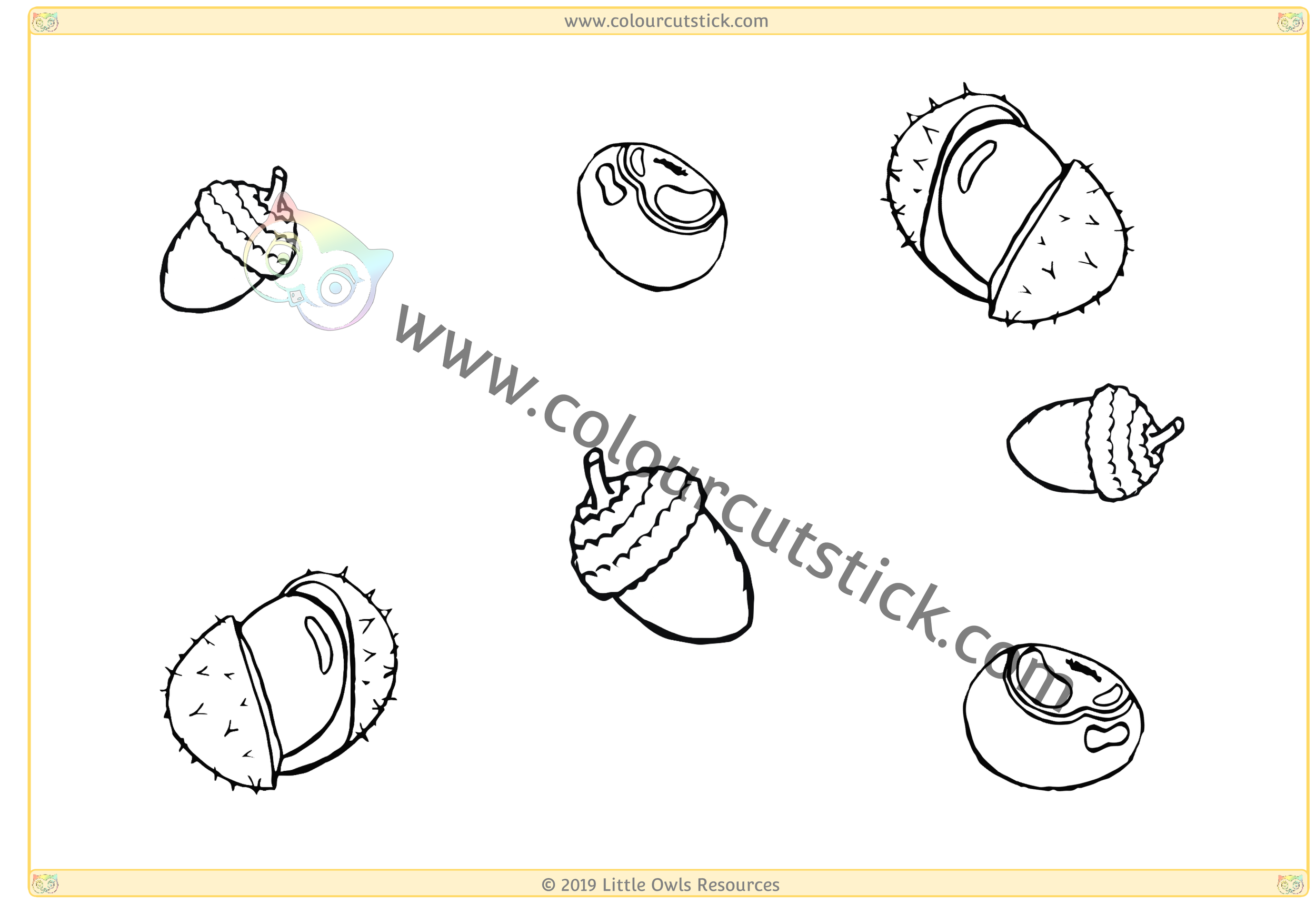 Conkers and Acorns -