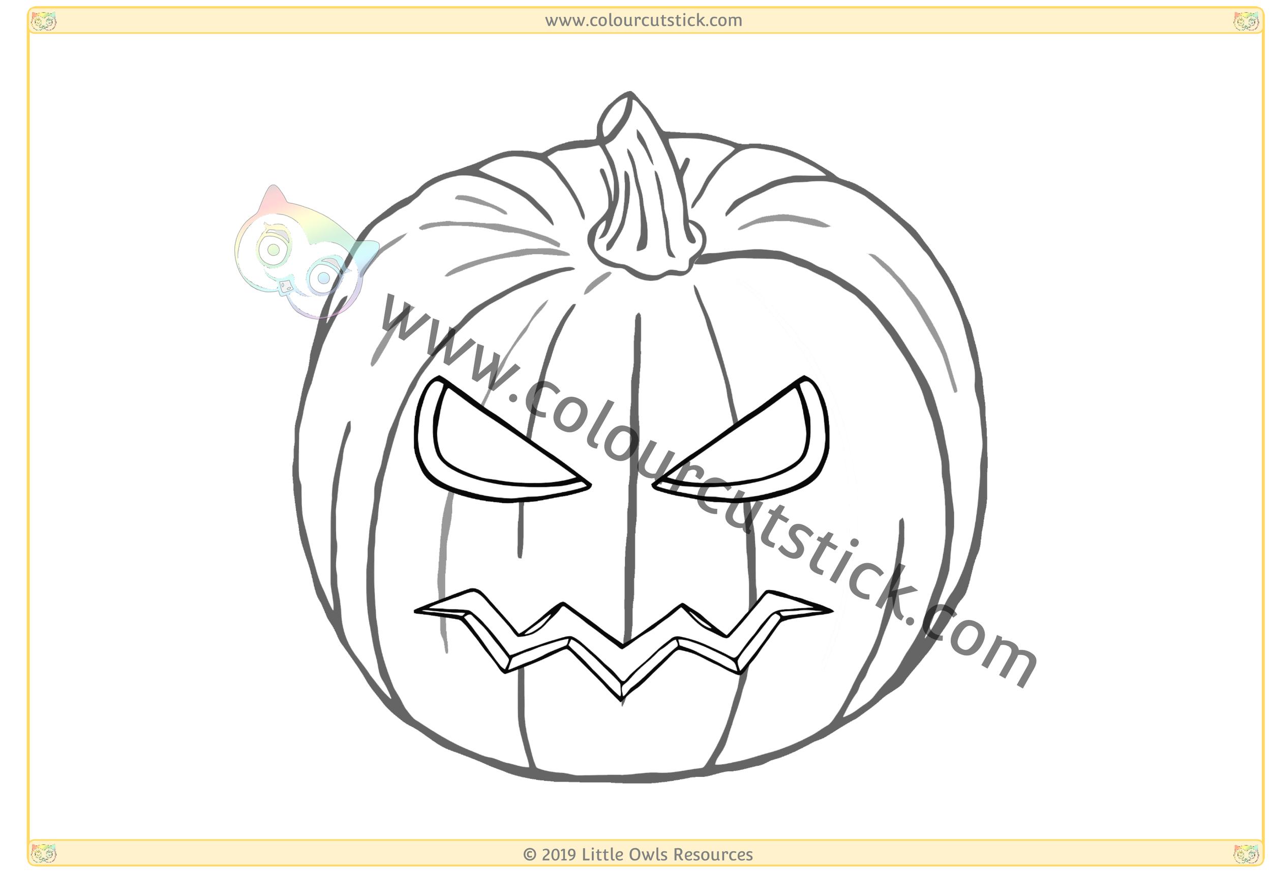 Scary Pumpkin -