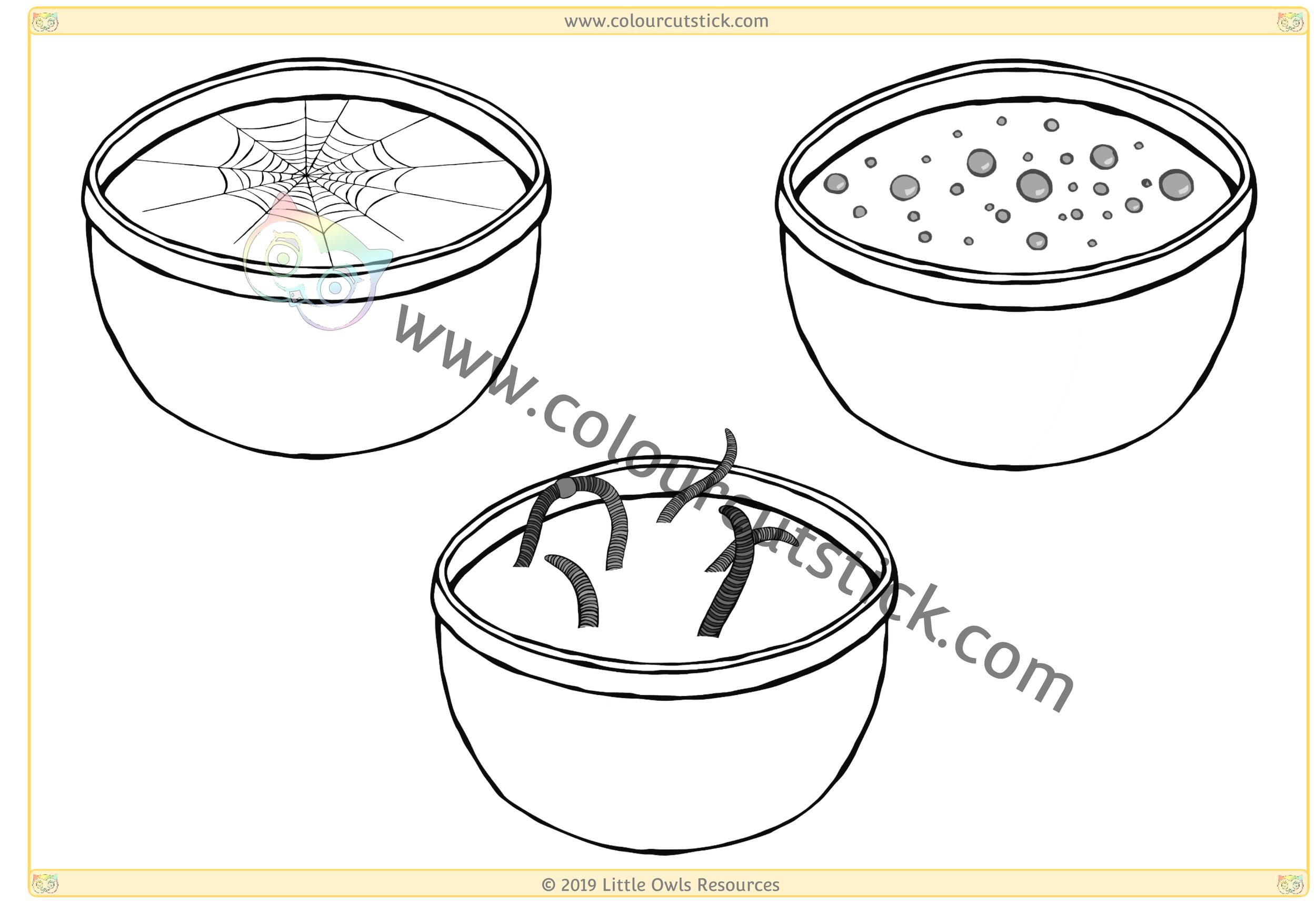 Halloween Food/Potions -