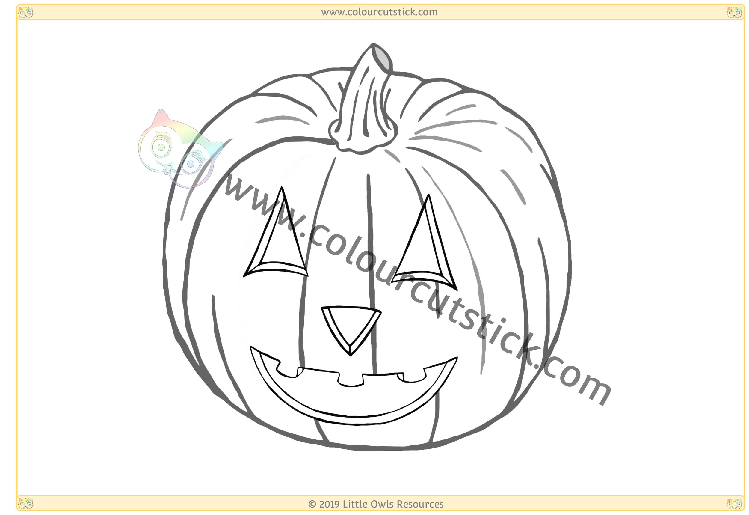 Smiling Pumpkin -