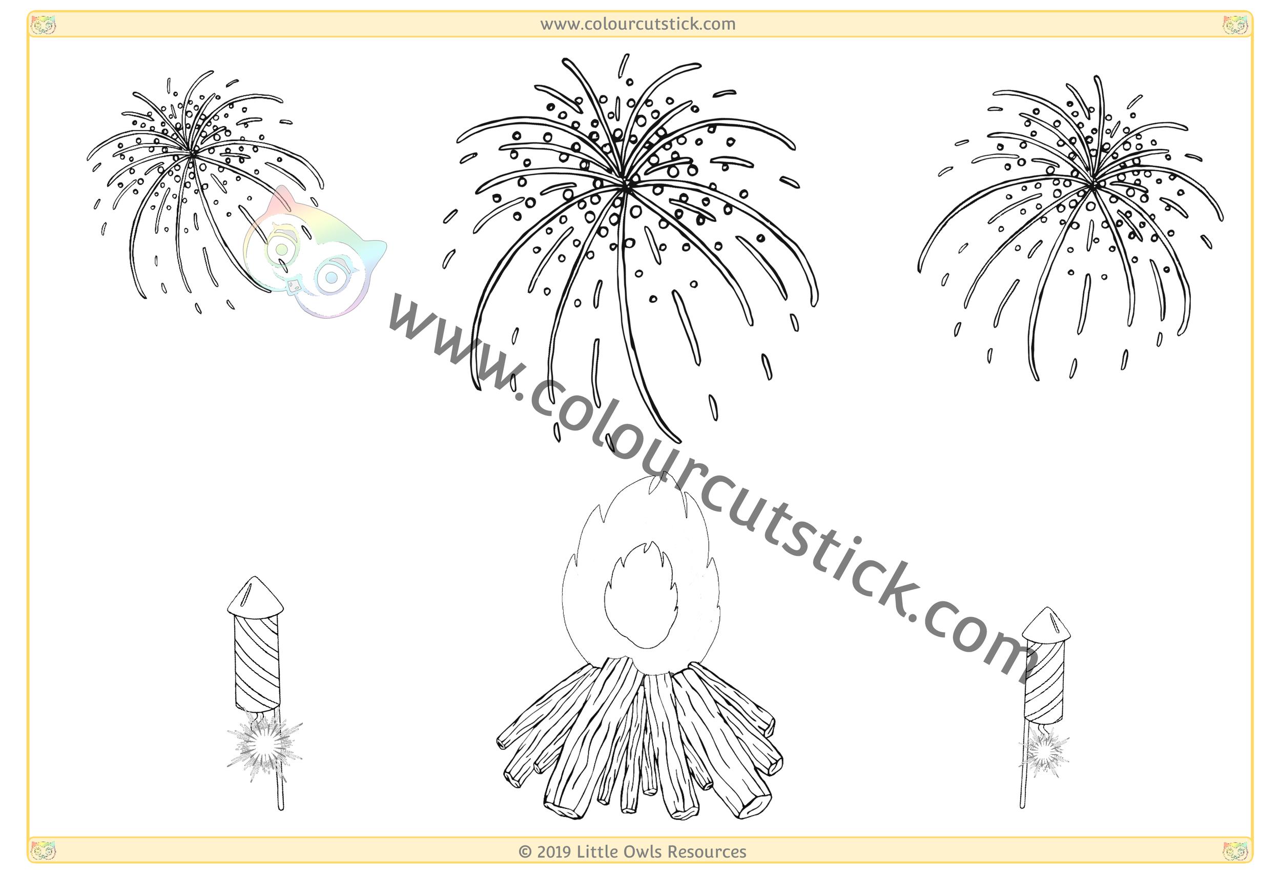 Fireworks & Bonfire -