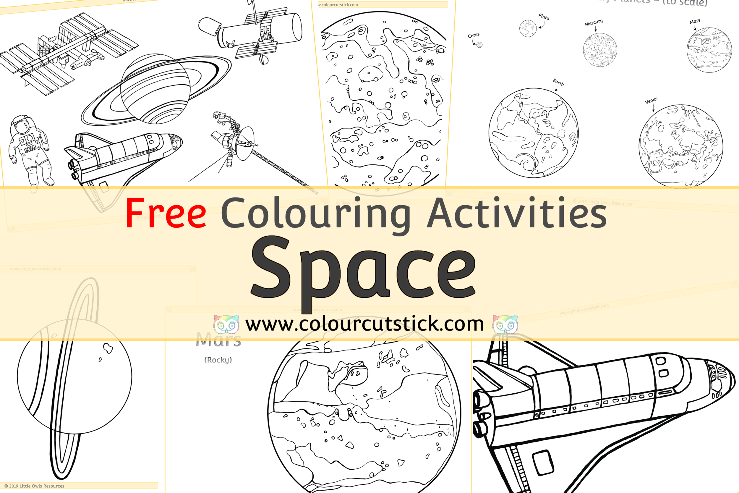 Planet #3 (Nature) – Printable coloring pages   1667x2500