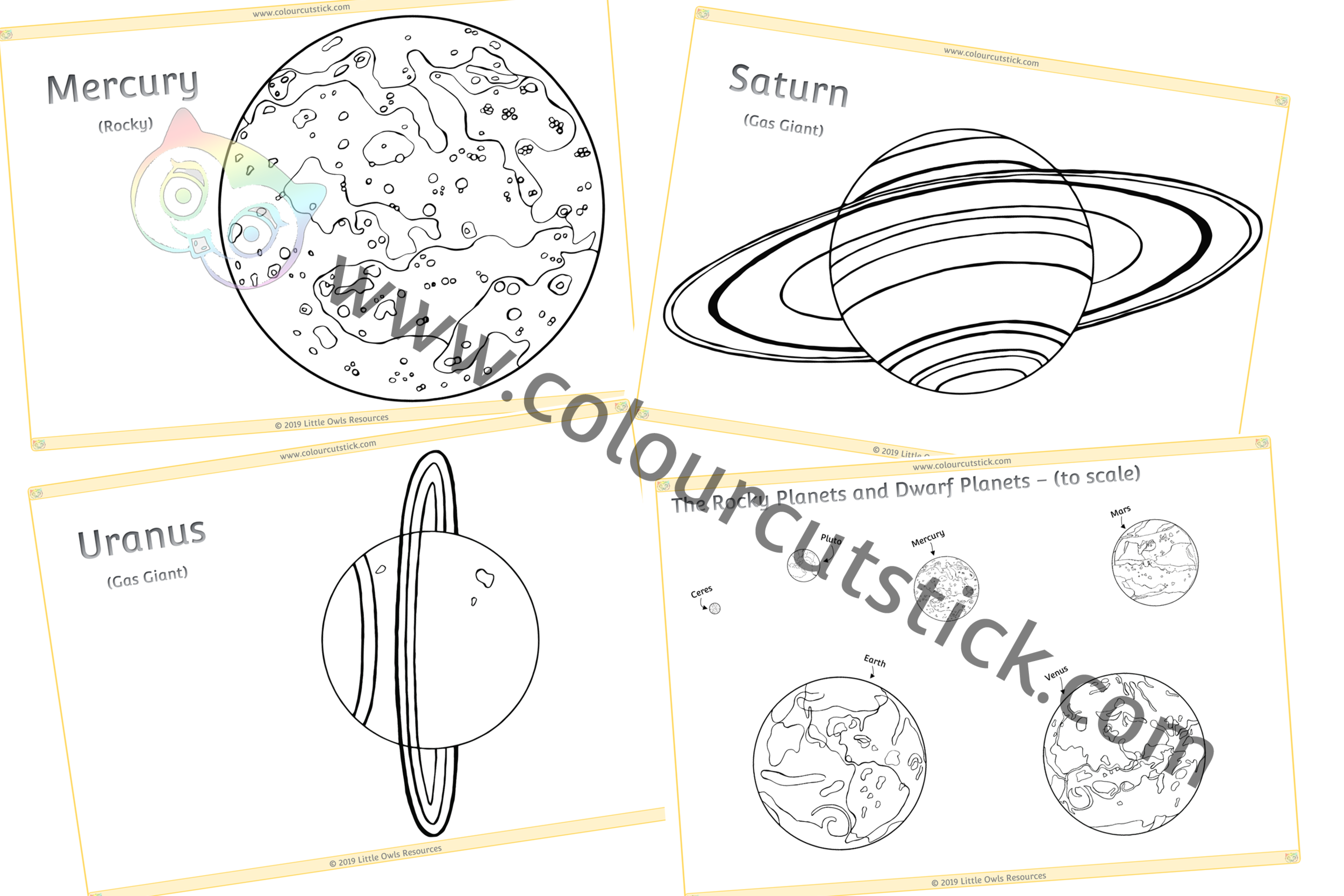 Printable Planet Coloring Pages For Kids | 667x1000