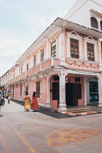 Old Town Phuket Town Thailand
