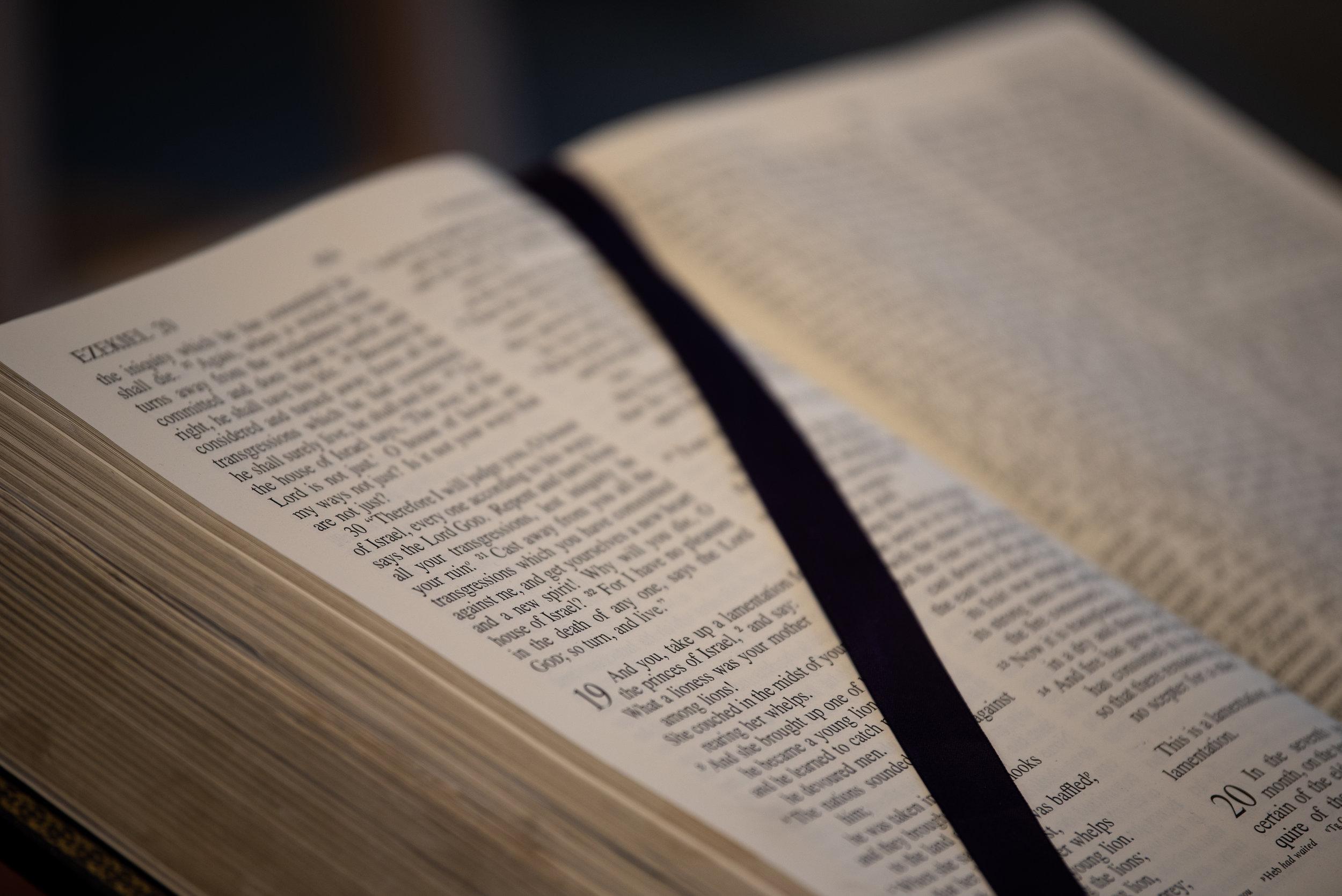 read scripture -