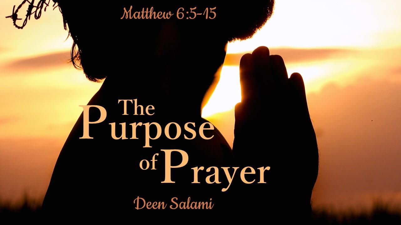 The Purpose of Prayer — SRBC