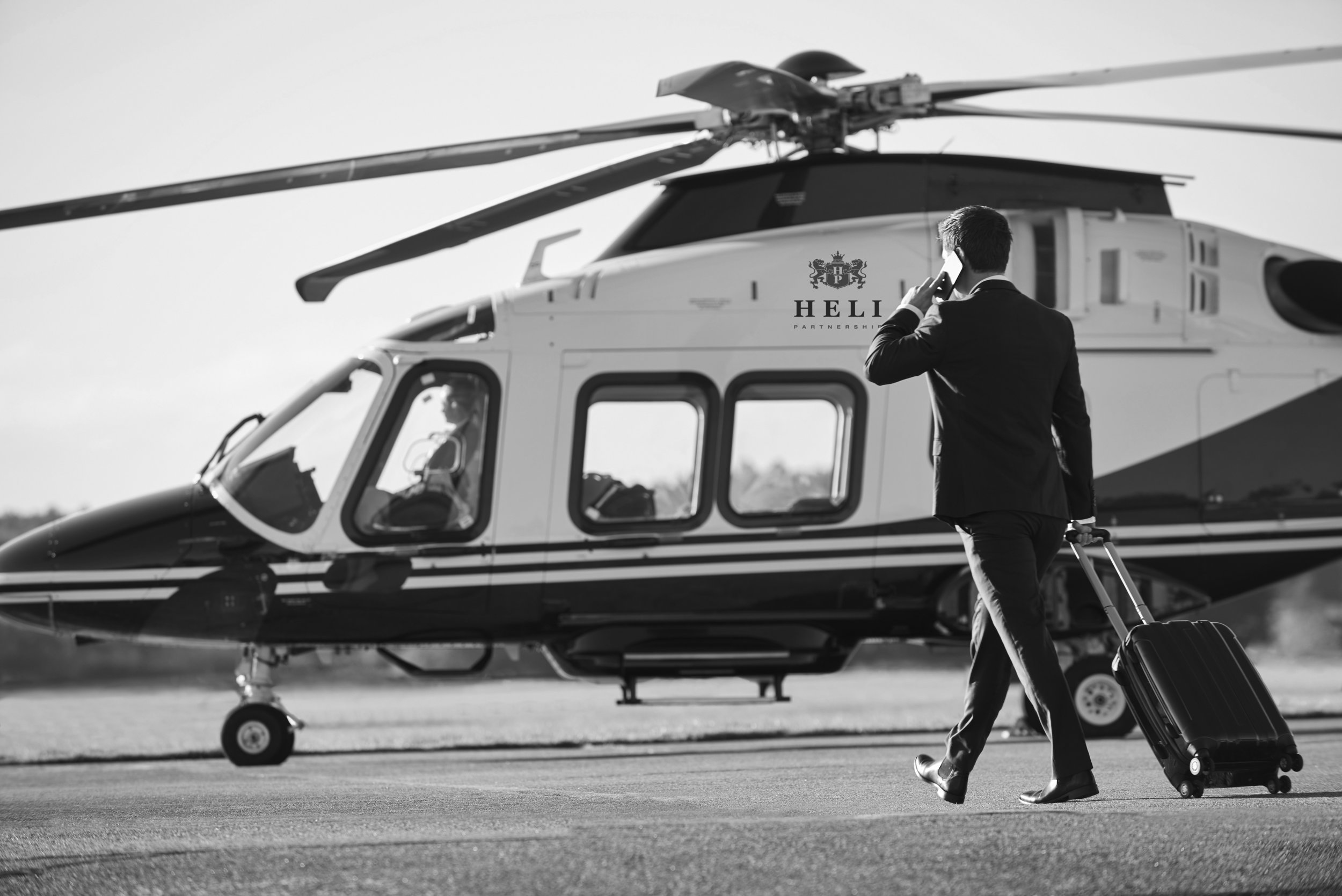 Business Helicopter Charter - A business helicopter charter can not only be a time efficient way of getting from meeting to meeting but also a comfortable, work efficient and cost effective method of transportation.