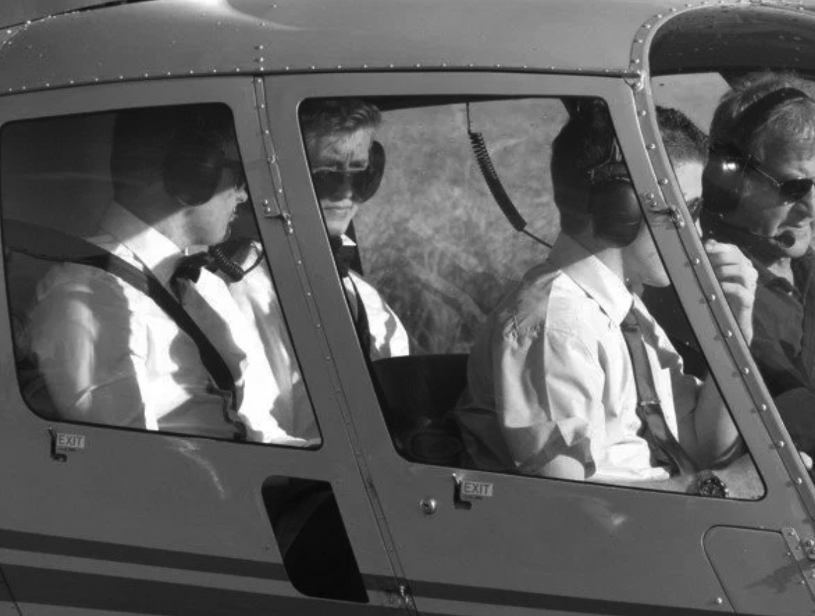 Make an impact… - Cretae an entrance that will impress your school friends and colleagues by arriving in style by helicopter at your school prom.
