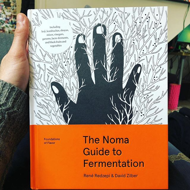 Looking forward to reading this!!! @reneredzepinoma bringing new levels of flavour to my cooking!!! Possibly making up some fermentation's for sale on our website!!! #yum #noma #foodporn #foodie #food #chefsofinstagram