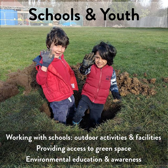 4 days left until our launch! We're working extensively with schools, and by the end of the school year will have run 13 bug hunts with classes from Telferscot and Henry Cavendish. If you'd like your local school to have access to our facilities and staff next year, please get in touch and we'll arrange it. Woodfield provides led access to green space for young people through schools and family events. These activities support environmental engagement and awareness in young people, promoting their wellbeing, and allowing them to act on their interests in wildlife and being outdoors.