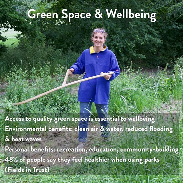 2 days left until our opening on Sunday, and we've got some more of our ethos to share.  We see access to good-quality green space as essential to personal wellbeing, particularly in a city the size of London.  Parks clean our air and water (roads near parks are typically cleaner) by cycling them through vegetation. They also regulate water cycling, slowing it down and draining storms away to reduce flooding, or holding onto it, piping it up through trees to cool air in the hottest spells.  On top of all that, we have the personal benefits of having a place to learn, play, and socialise. People feel healthier and happier when they spend time in green spaces, and we're in the fortunate position of helping improve services in one of London's best parks.