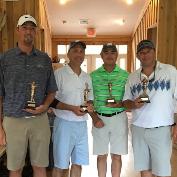 2nd Place Team Dave Bennett, Dave Genevro, Mike Ross, Travis Dutcher