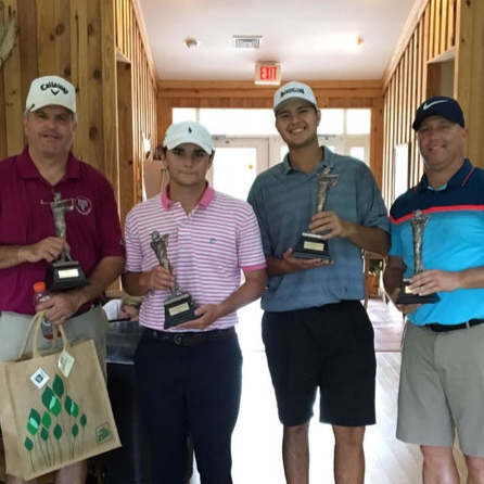 1st place team. Charles Boyer, Matthew Gregio, Jeff Necessary, Casey Boyer