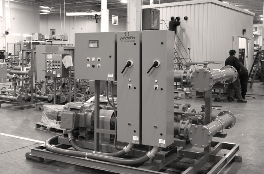 history - SyncroFlo is an Atlanta-based manufacturer with over 50 years in the industry.