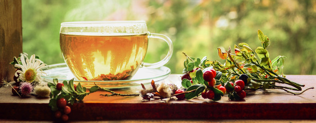 Warm tea can be soothing and satisfying
