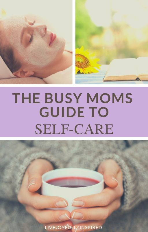 When you're a busy mom, taking care of you is usually at the bottom of the list so here's a few quick tips to fit in a little time just for you. This post contains easy ways to take care of yourself. #mom #selfcare #busymom